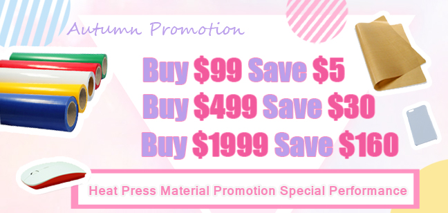 Hundreds of Sublimation Consumables on Promotion