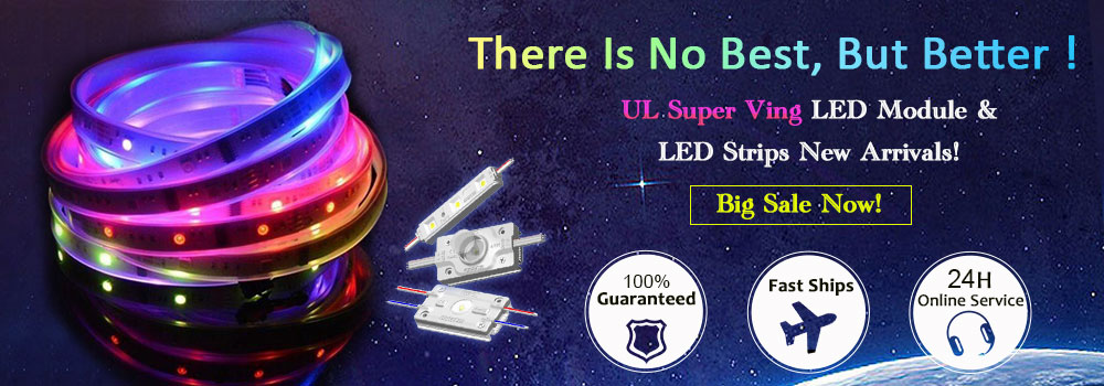 UL Super Ving Series LEDs New Arrival, Big Sale Now!