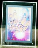 4 Inches Crystal Battery Light Box