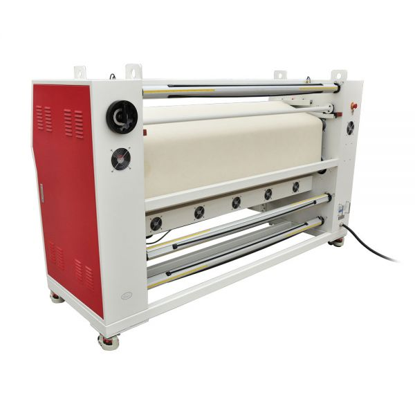 roll to roll heat press transfer machine