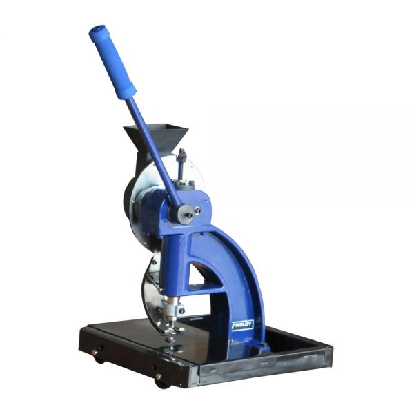 semi automatic grommet machine