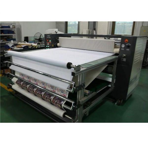 roll to roll heat transfer machine