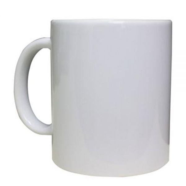 11 Oz Orca Coating White Mug For Sublimation Printing 0