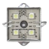 SMD 5050 Waterdichte LED Module (4 LED's, Metal Shell, 0.96W, L35 x W35mm) voor Illuminate Signs