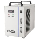AC220V 50Hz CW-5000AG Industrial Water Chiller for a Single 80W or 100W CO2 Glass Laser Tube Cooling, 0.4HP