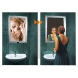 A2 Size LED-verlichting Aluminium Magic Mirror Light Box