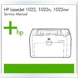HP LaserJet 1022 1022n 1022nw Printer Engels Service Manual / Repair Manual