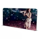 20ft Straight Fabric Tension Display Wall(Double Sided Graphics Included)