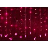 4m 144 LEDS Icicle Light Curtain Party Festival Christamas Room Decorative Light