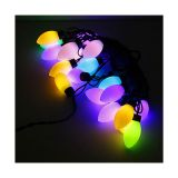 AC220V Color Changing 20LED Sharp Ball 16 Feet String for Christmas XMAS Party