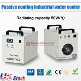 US Stock, S&A CW-3000DF Thermolysis Industrial Water Chiller (AC 1P 110V 60HZ) for 0.8KW / 1.5KW Spindle Cooling