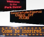 Large LED Message Board