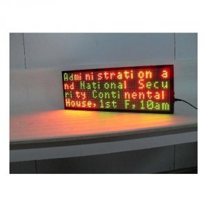 "14"" x 8"" Indoor 4 Lines LED Scrolling Sign(Tricolor or Single Color)"