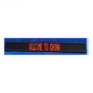 "50"" x 4"" Indoor 1 Line LED Scrolling Sign(Tricolor )"