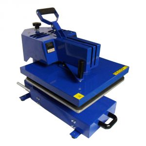 "15""x15"" Swing-away Manual T-shirt Heat Press Machine with Slide Out Table"