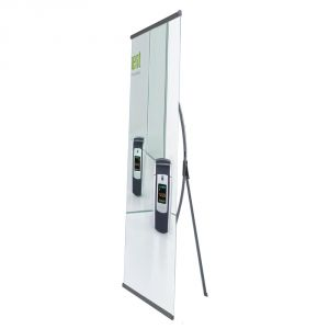 Deluxe L  Banner Stand