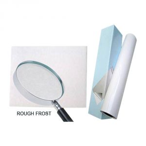 "25"" (0.635m) Matte Rough Frost Cold Laminating Film"