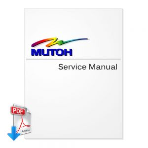 MUTOH RockHopper (Falcon Outdoor Jr) Series Service Manual (Direct Download)