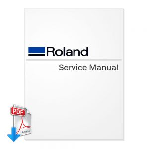 Roland SJ-645EX SJ-745EX Large Format Printer English Service Manual