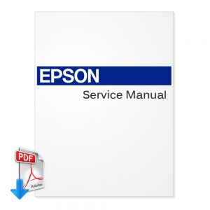 EPSON Stylus Pro 10600 Large Format Printer and Plotter English On-Site Service Manual (Direct Download)