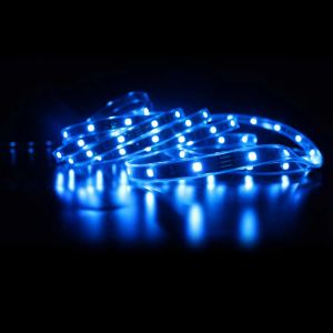 Blue Color Flexible LED Light Strip(60 SMD 5050 leds per meter nonwaterproof) 5m/roll