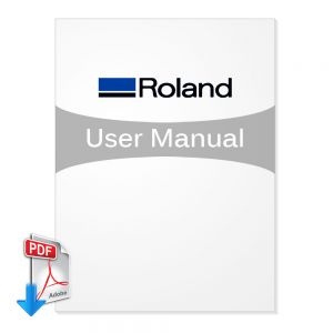 Roland Aduanced Jet AJ-1000 Users manual (Free Download)
