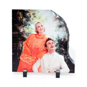 20 x 20CM Right Shape Sublimation Photo Slate