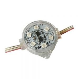 SMD 5050 Φ50 Full Color LED Point Light 1903IC