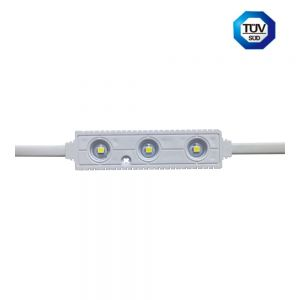 Sample-AC100-220V High Voltage SMD 2835 IP68 Waterproof LED Module (3 LEDs, 1.6W, L92 x W22 x H8.6mm White Light)