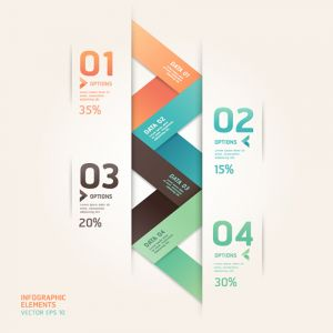 Infographics Vector Design Template 3D Charts Diagram Graph Infographics Design Vector Illustration (Free Download Illustrations)