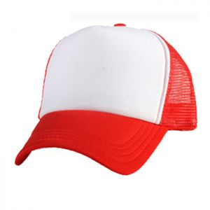 Colorful Polyester Mesh Cap Hat for Sublimation Printing