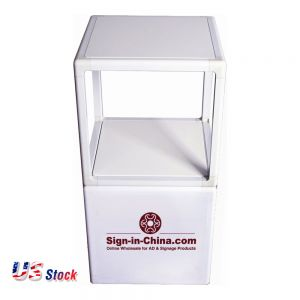 "Clearance Sale! US Stock-24"" Magnetic Merchandising Cube White Board"