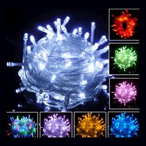 10M 100 LED Fairy Party String Light Garden Xmas Waterproof Decor Lamp