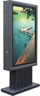 "Delicate Double Sides Scrolling Light Box 39.4""×78.7"" (1000×2000)"