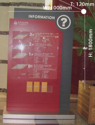 Directional signboard 030
