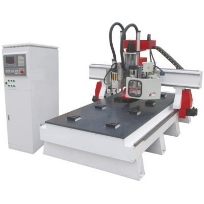 "51"" x 98"" (1300mm x 2500mm) Woodworking CNC Center with Italian combination drills and Auto-tool Changer system"