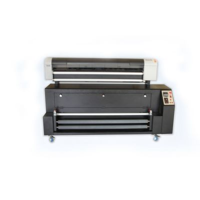 Direct Dye Sublimation Digital Inkjet Textile Printer and Heater-1080 (1080mm Flag Making Machine)