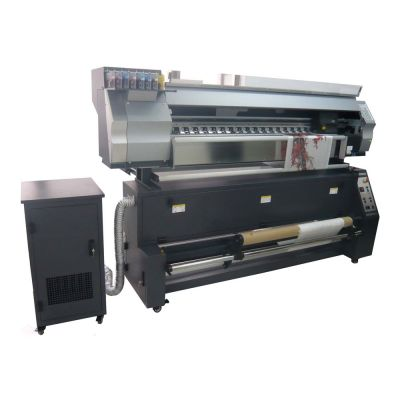 Direct Dye Sublimation Digital Inkjet Textile Printer And