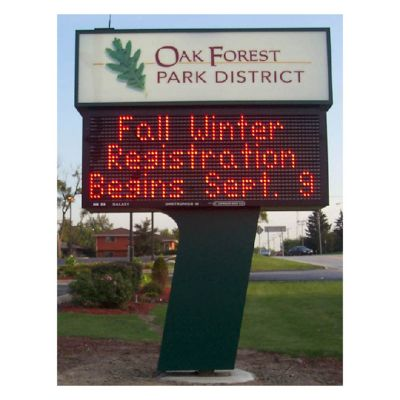 P16 Outdoorsingle color LED message board