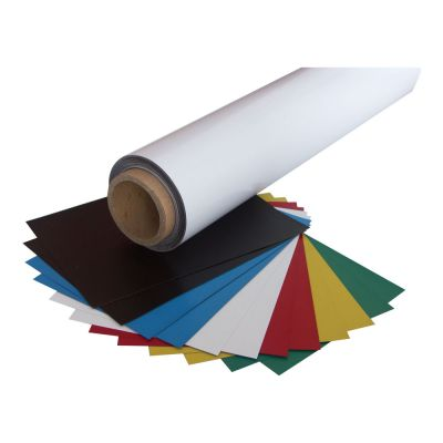 "24.4""(0.62m*30m) Printing Media Flexible Magnet with PVC"