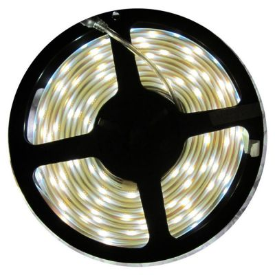 White Color Flexible LED Light Strip(60 SMD 5050 leds per meter waterproof IP65) 5m/roll