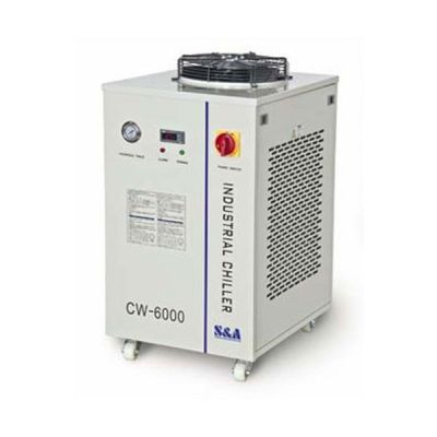 Ving CW-6000DH Industrial Water Chiller for 3 x 100W or 4 x 80W CO2 Glass Laser Tubes Cooling, 1.52HP, AC 1P 110V, 60HZ