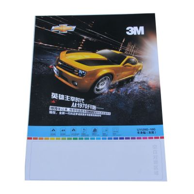 "3M 36"" (0.914m) Glossy Grey Glue Self-adhesive Vinyl Film/Vehicle Wrap, Series 1120"