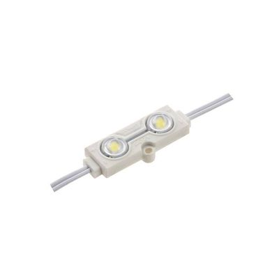 SMD 5050 45*15*11  Injection LED Module with Lens 160° IP65 12V DC 0.6W LED Module