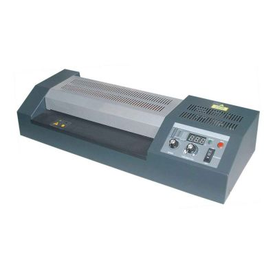 "18"" High Temperature and Adjustable-speed Hot Cold  Pouch Laminator with Four Roller"