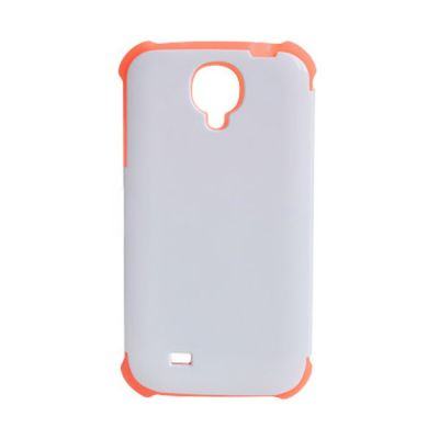3D Sublimation Silicon Samsung S4 Blank Cell Phone Case Cover for Heat Transfer Printing