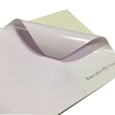 "36"" (0.914m) Glossy Removable Self Adhesive Vinyl with Clear Adhesive Glue 140G"