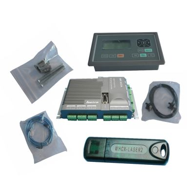 MPC6525A Leetro Laser Controller System (Include 6525A Main Board, Controller Panel, USB Dongle, USB Cable, Wire Cable, Screw)
