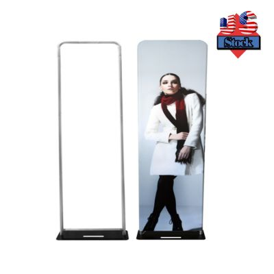 US Stock-Fabric Tension Banner Stand With Base