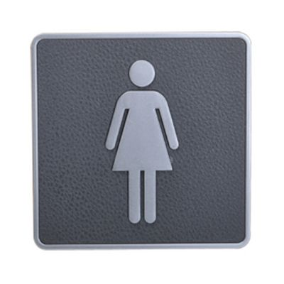 Female, Toilet, Restroom Signs, ABS New Material